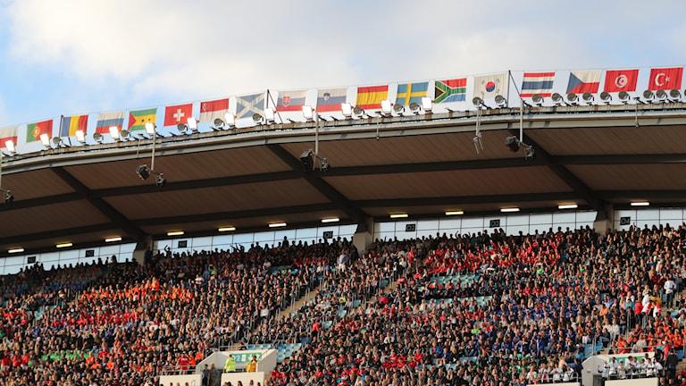 The Gothia Cup at Gothenburg's New Ullevi stadium.