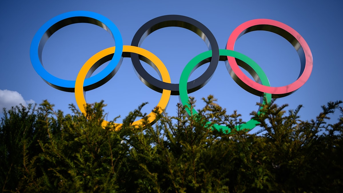 File photo of the Olympic logo