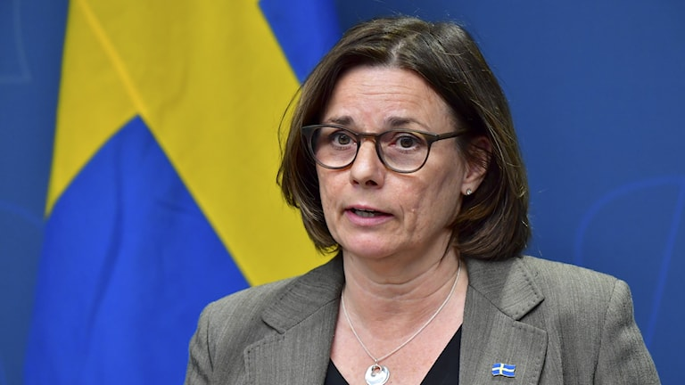 Deputy prime minister Isabella Lövin