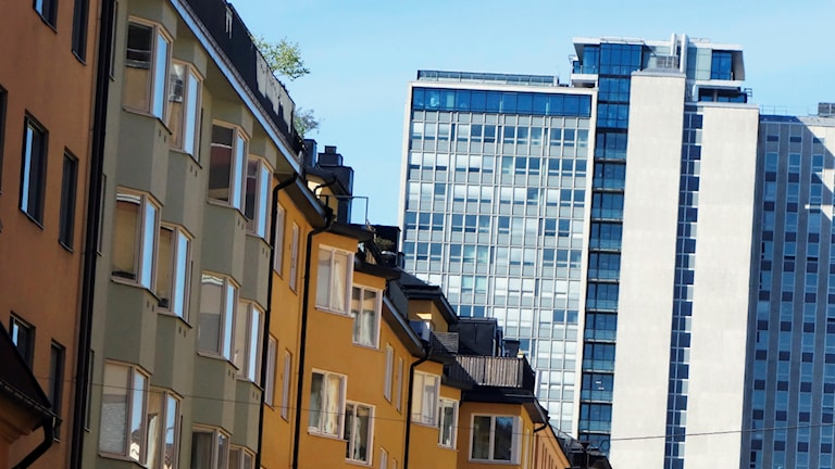 Apartments in Stockholm. Photo: Hasse Holmberg / TT.