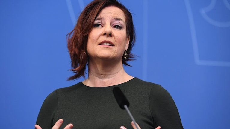 Sweden's new coordinator against violent extremism Anna Carlstedt.