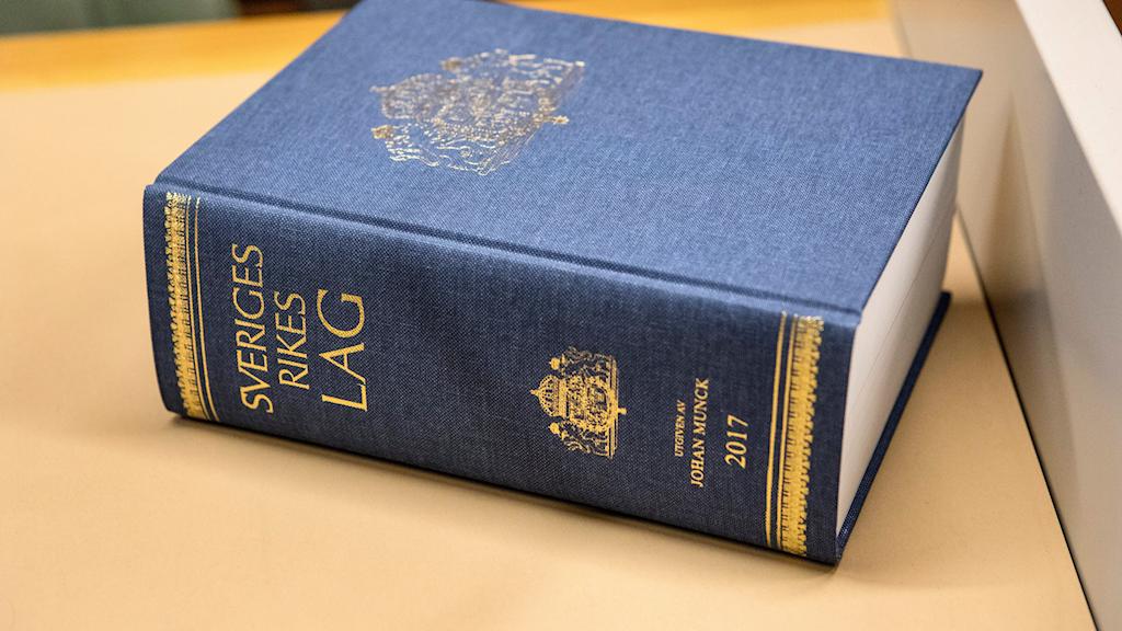 Swedish law book.