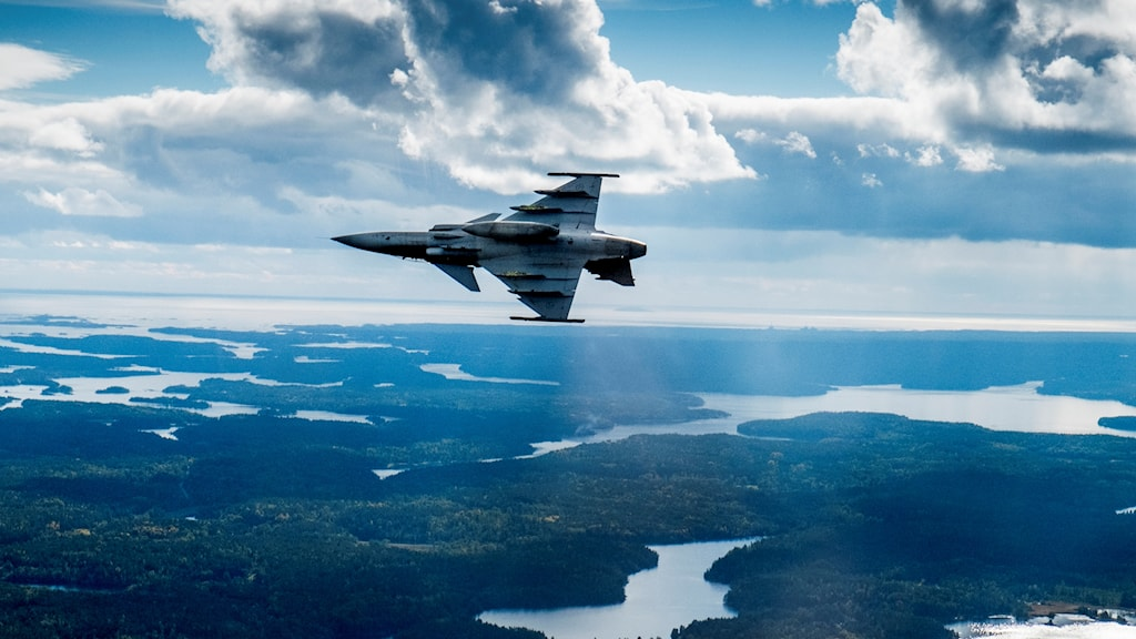 Planes flying over the Baltic without transponders has become more common. File photo: Magnus Hjalmarson Neideman / SvD
