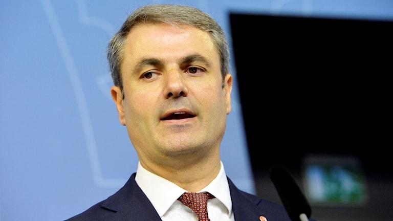 Current Energy Minister Ibrahim Baylan, also new Coordination Minister. Photo: Jonas Ekströmer / TT.