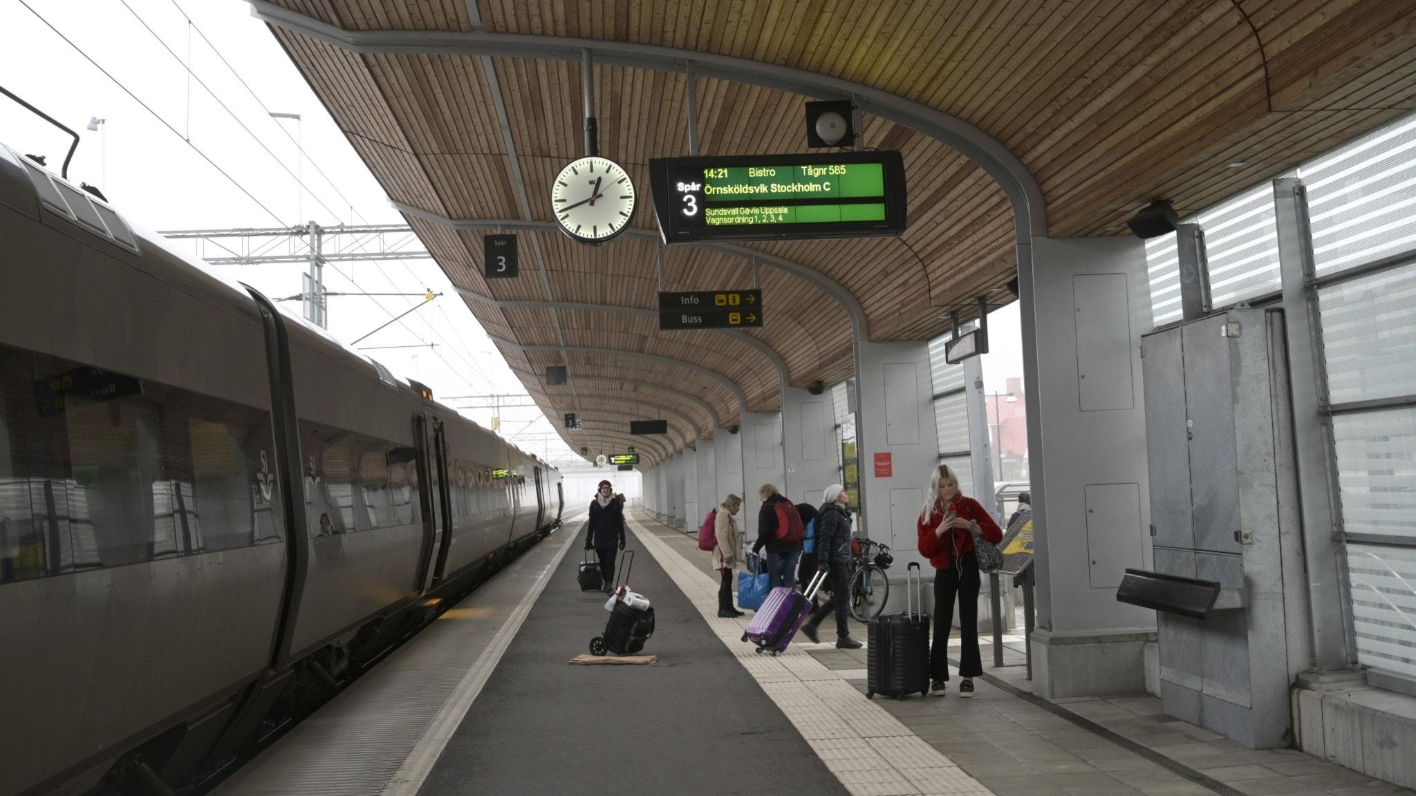 File photo of Swedish train.