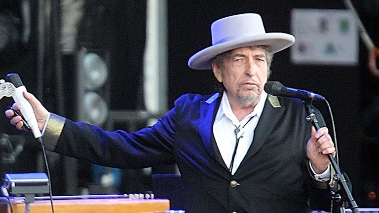 Nobel Prize in Literature winner Bob Dylan.