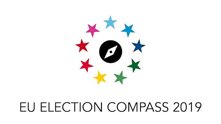 A logo for the Eu election compass.