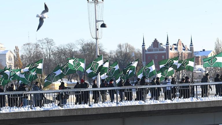 Nordic Resistance Movement.