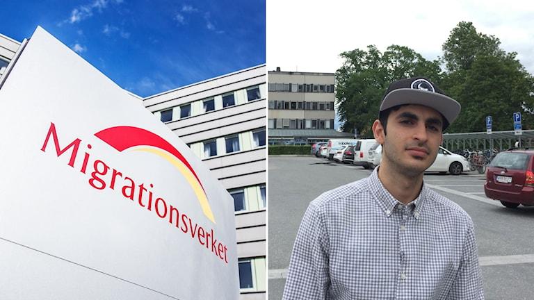 Migration Agency (left), Sameer Suhbat (right)
