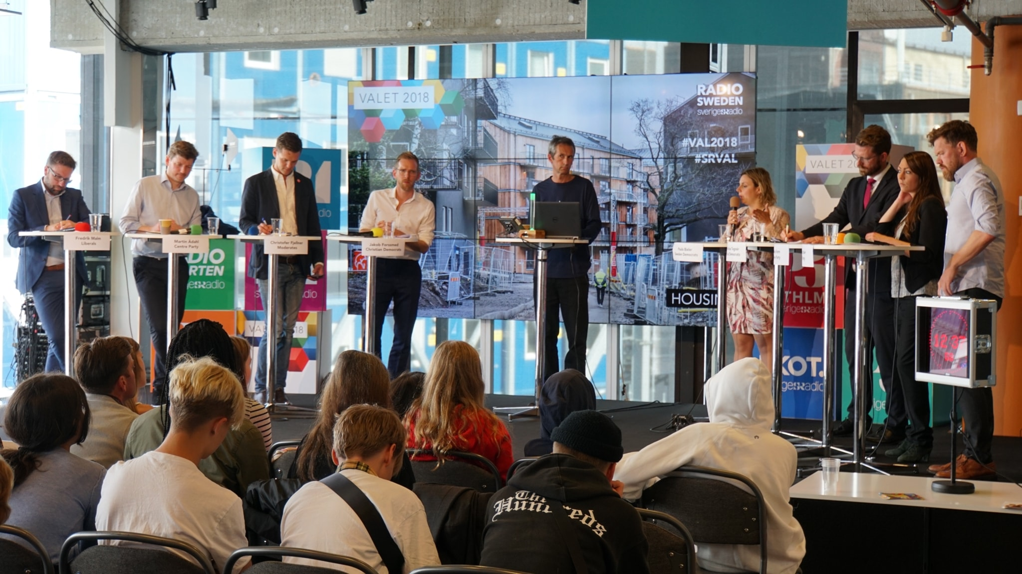 Radio Sweden Weekly: Election debate special live from Kulturhuset in Stockholm