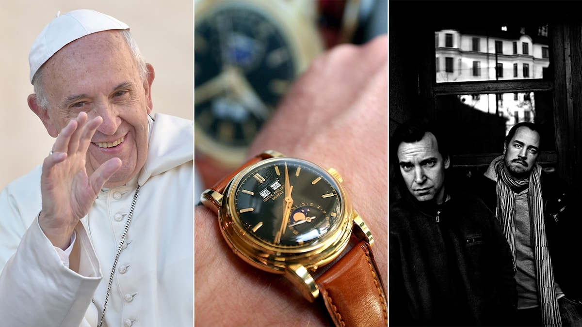 Pope Francis, a wristwatch, and director duo Mårlind & Stein