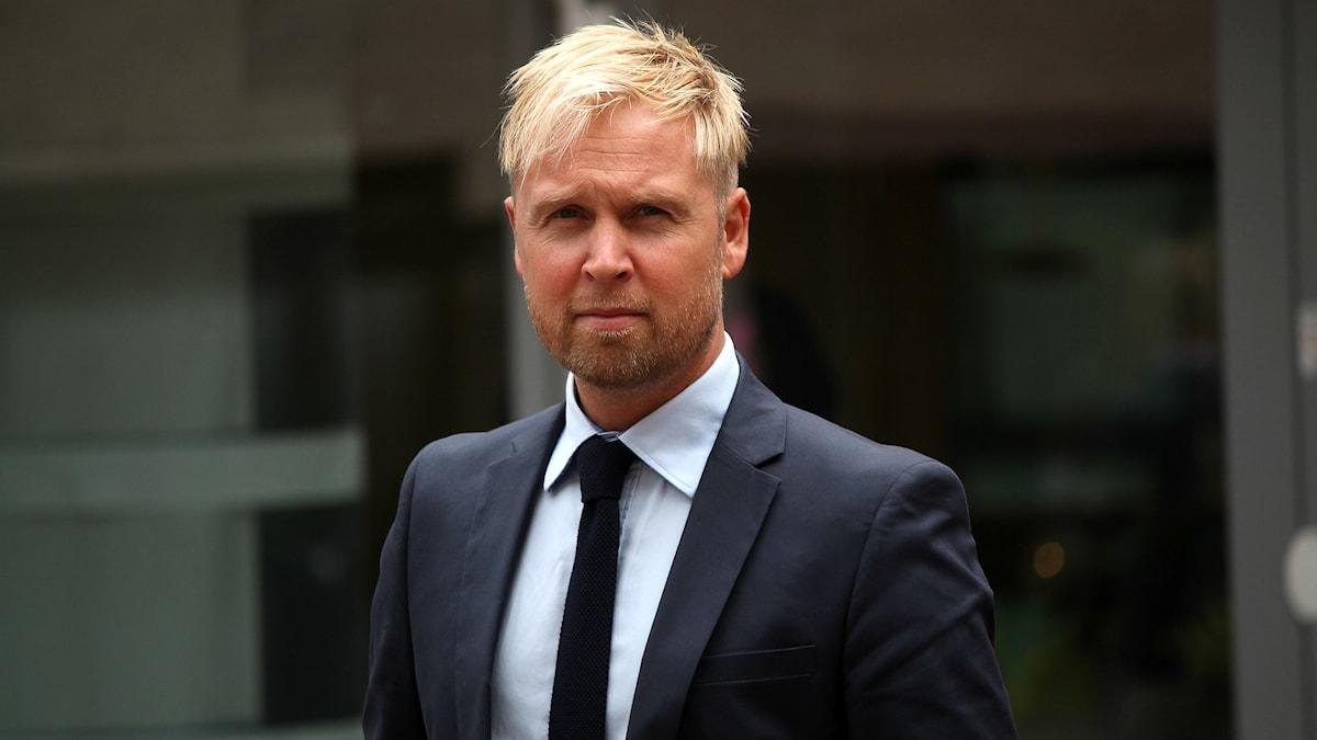 Marcus Sjöholm. Foto: Emma Kvennberg/Sveriges Radio