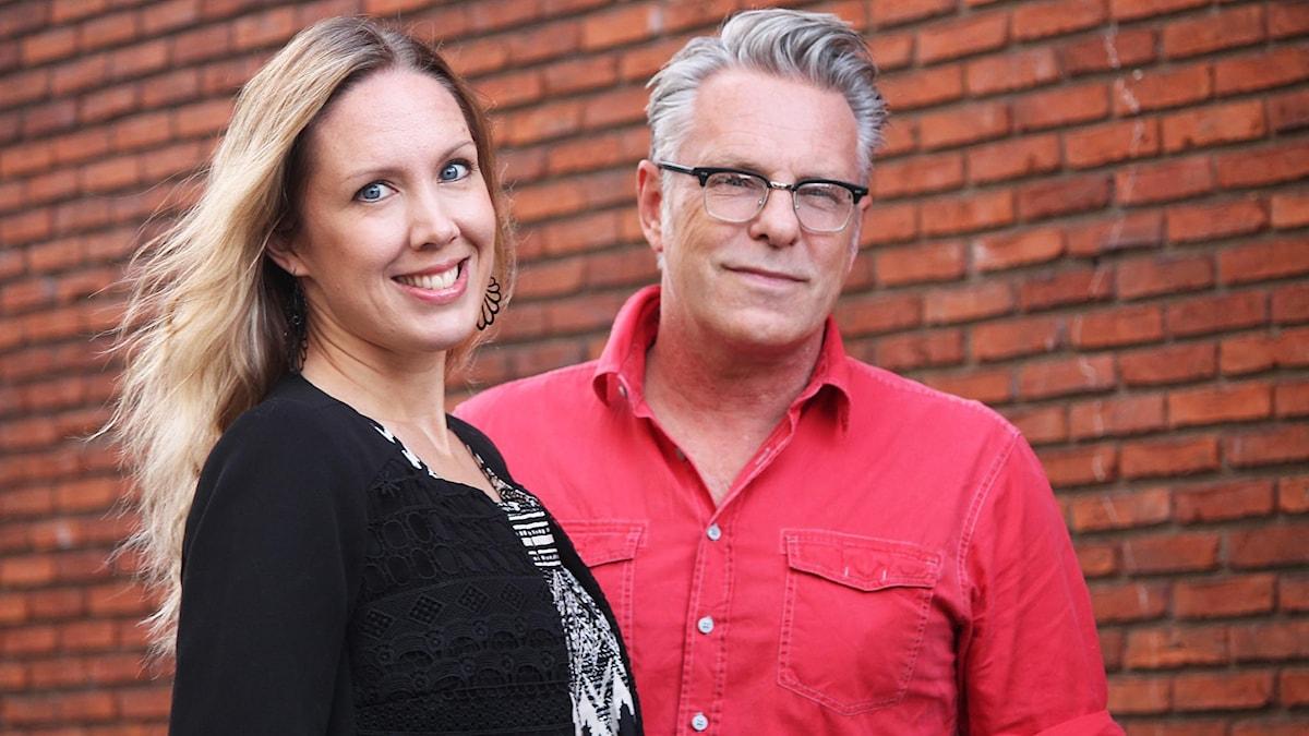 Maria Helttunen och Per Brolléus.