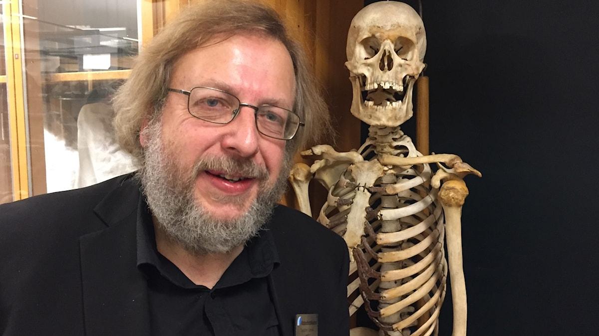 Torbjörn Lindell, lektor i biologi vid Katedralskolan i Växjö