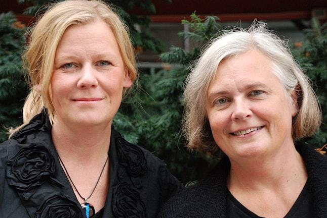 Gunilla Nordlund och Elisabeth Renström