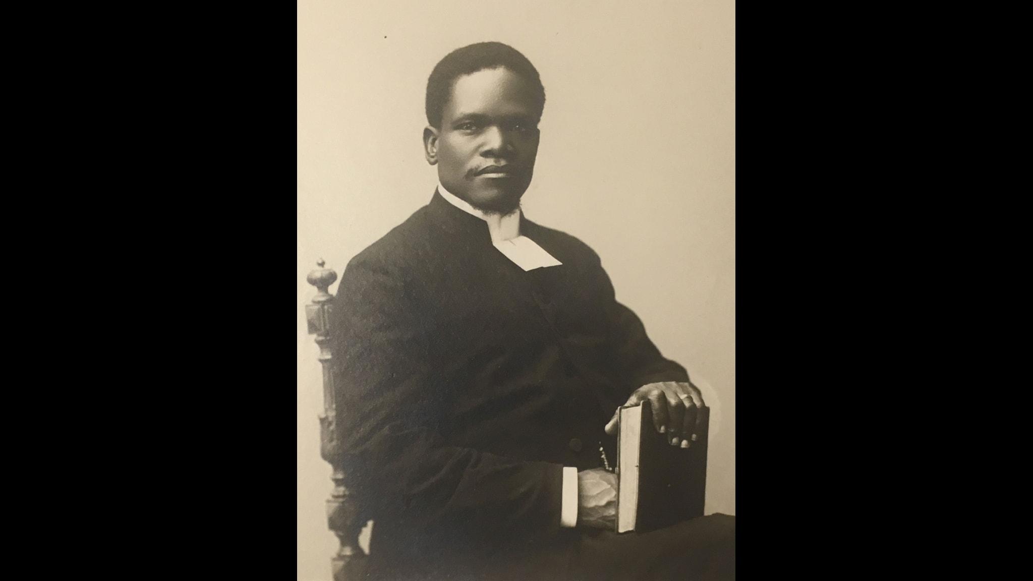Josef Zulu prästvigd i Uppasla 1901