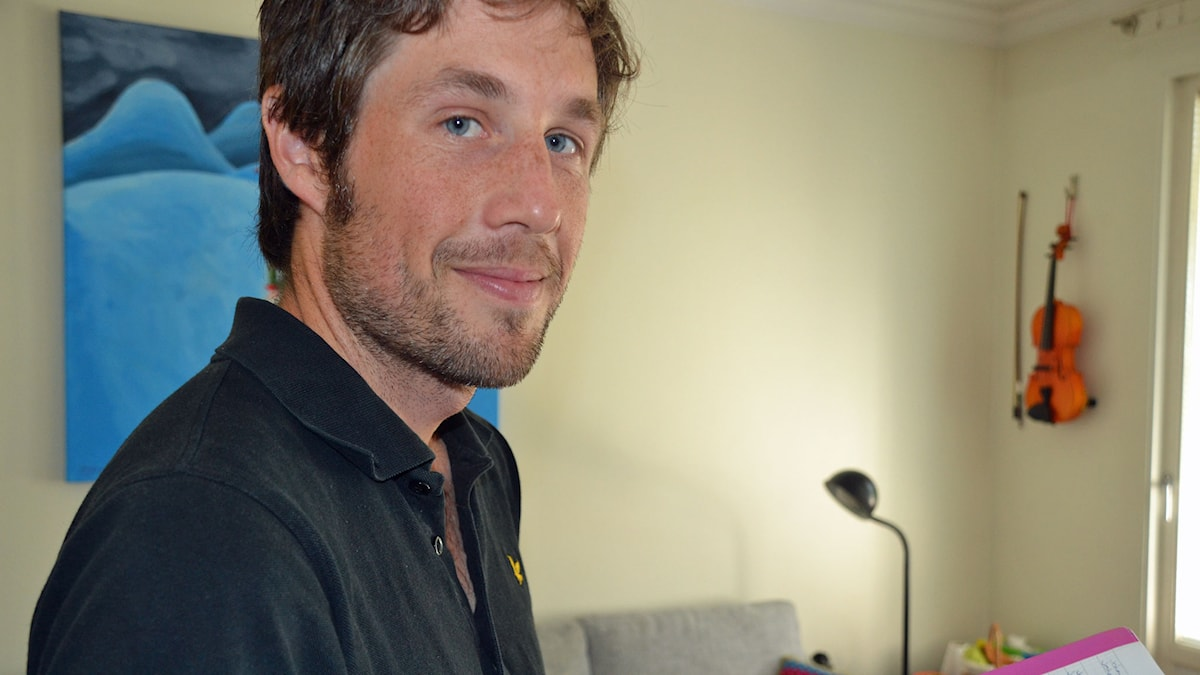 Andrew Tutt-Wixner. Foto: Gunilla Nordlund/ SR