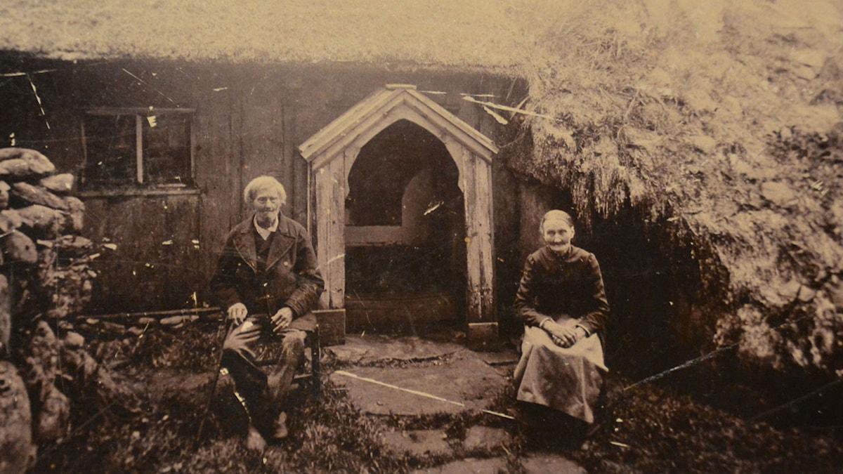 Abraham Lindström, en av de fem första som döptes av F O Nilsson 1848, och den ende som finns på bild. Foto: Svenska Baptistsamfundet och Missionskyrkans arkiv.