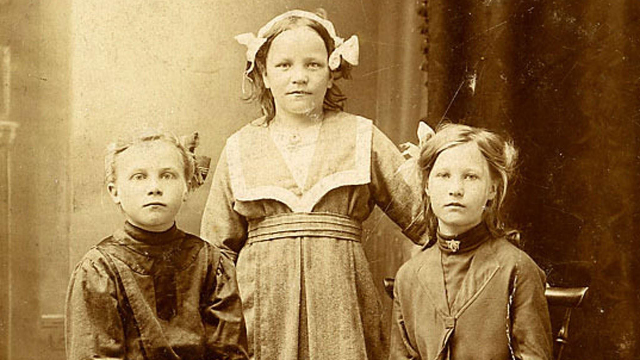 Margareta 9 år gammal i Våmhus. Foto: Privat