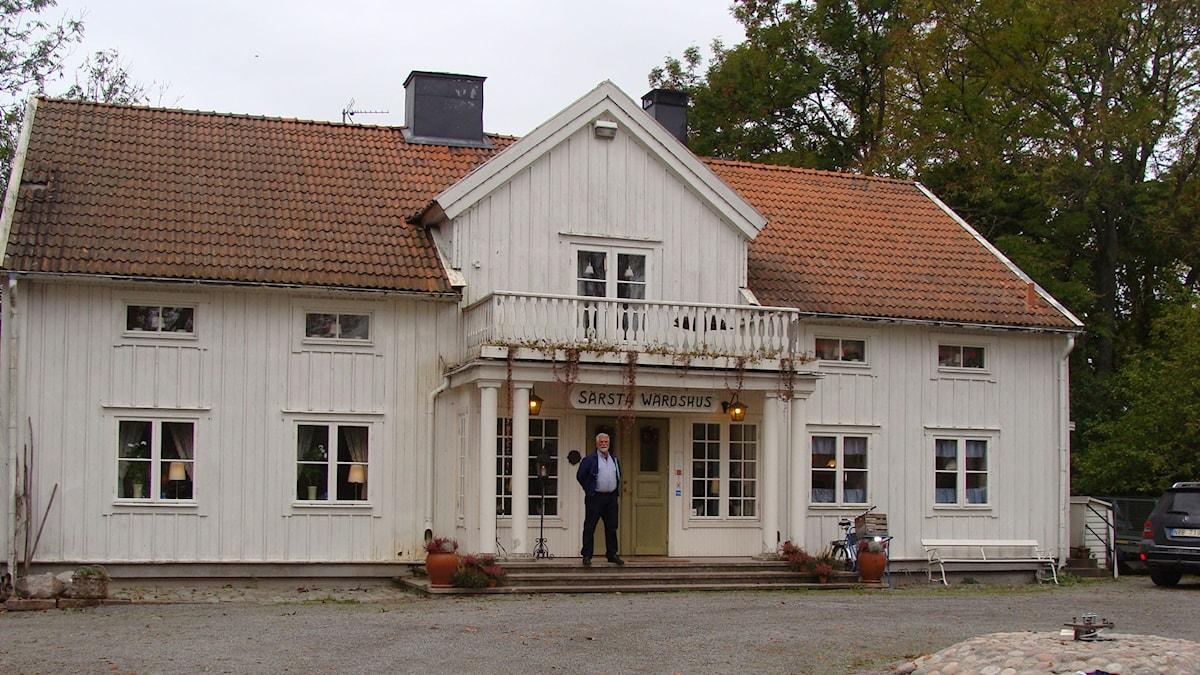 Gården där Charlotta bodde fram till 1853. Foto: Elisabeth Renström.