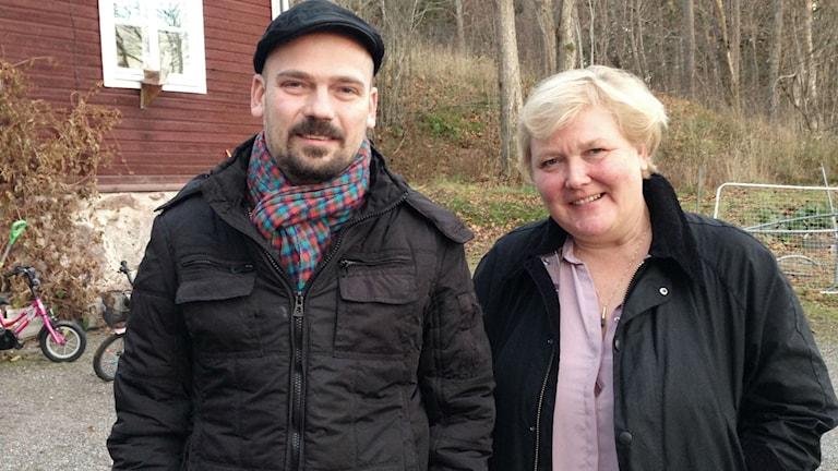 Kirsi Lindroos och Matias-Kaihovirta. Foto: Anna-Lotta Hirvonen Nyström