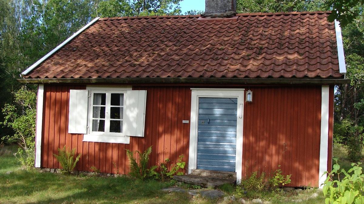 Fattigstugan i Långasjö där Littan-La bodde nästan hela sitt liv