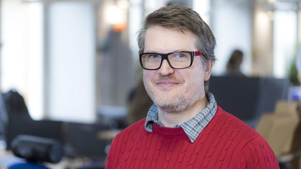 Mattias Klefbeck, reporter och programledare på riksprogrammet Klartext.