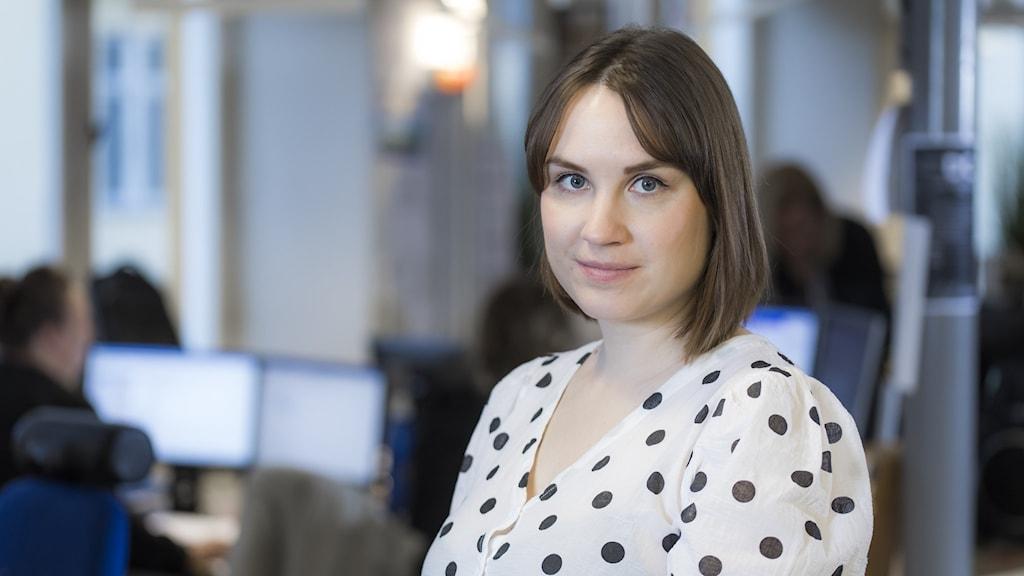 Emma Hulander, programledare på P4 Dalarna.