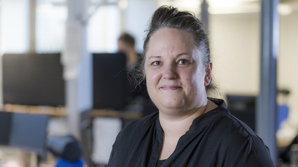 Linda Zinderland, nyhetsproducent på P4 Dalarna.