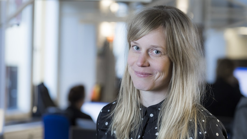 Stina Ivansson, programledare på P4 Dalarna.