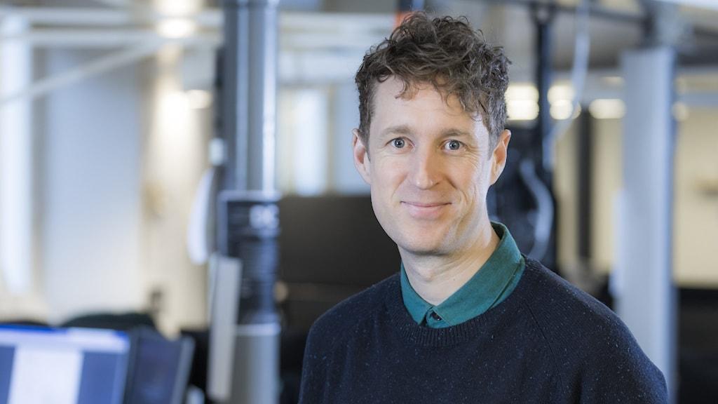 Martin Eriksson, programledare på P4 Dalarna.