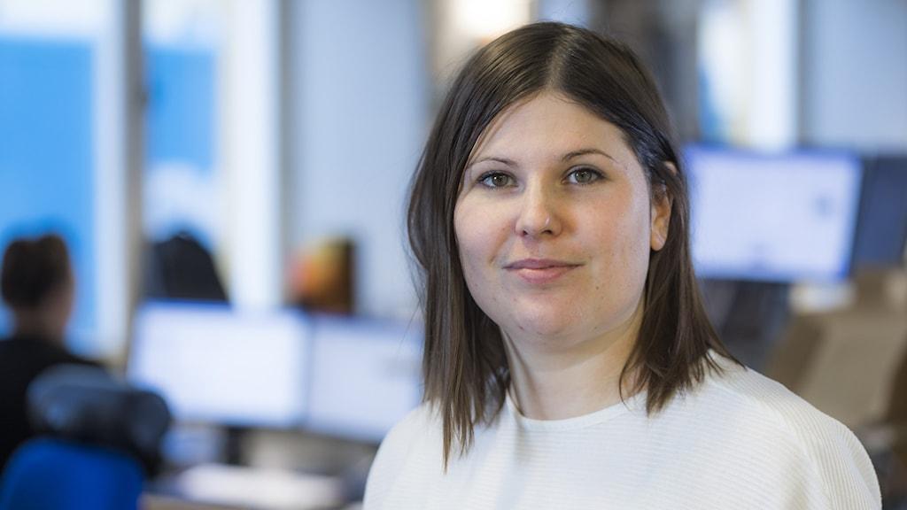 Hanna Embretsén, programledare på P4 Dalarna.