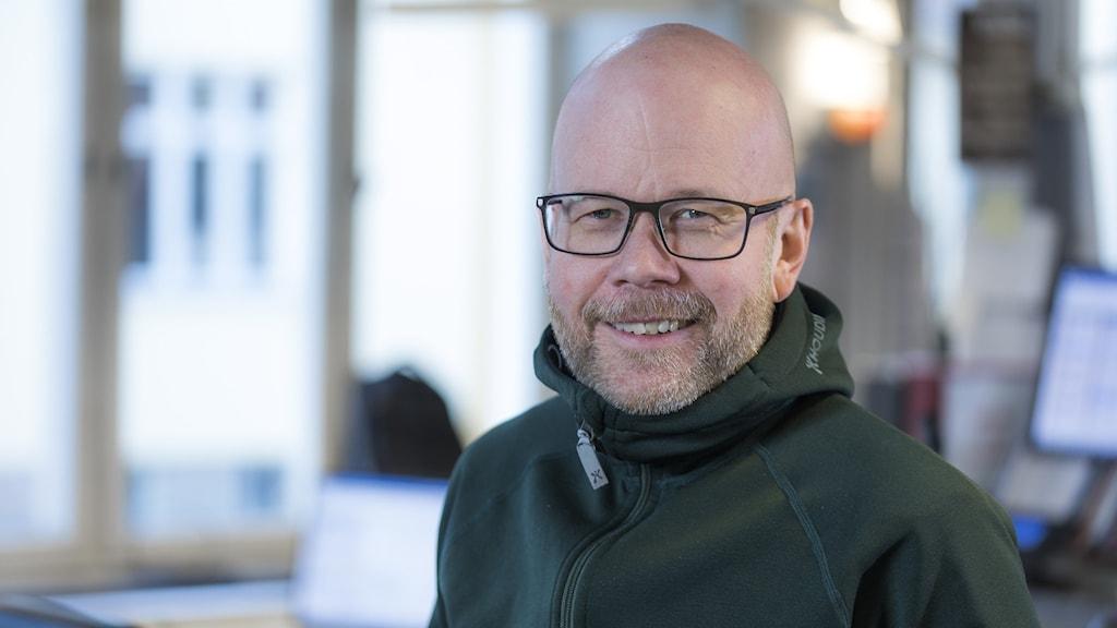 Tobias Gruhs, programutvecklingschef på P4 Dalarna.
