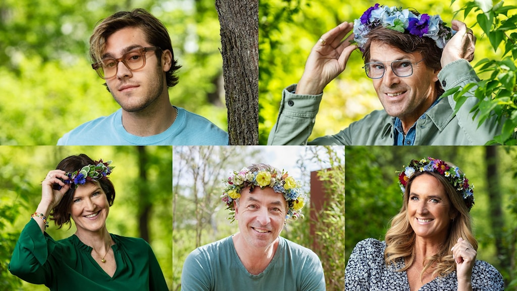 Benjamin Ingrosso, Niklas Strömstedt,  Anna Kinberg Batra, Tareq Taylor och Denise Rudberg.