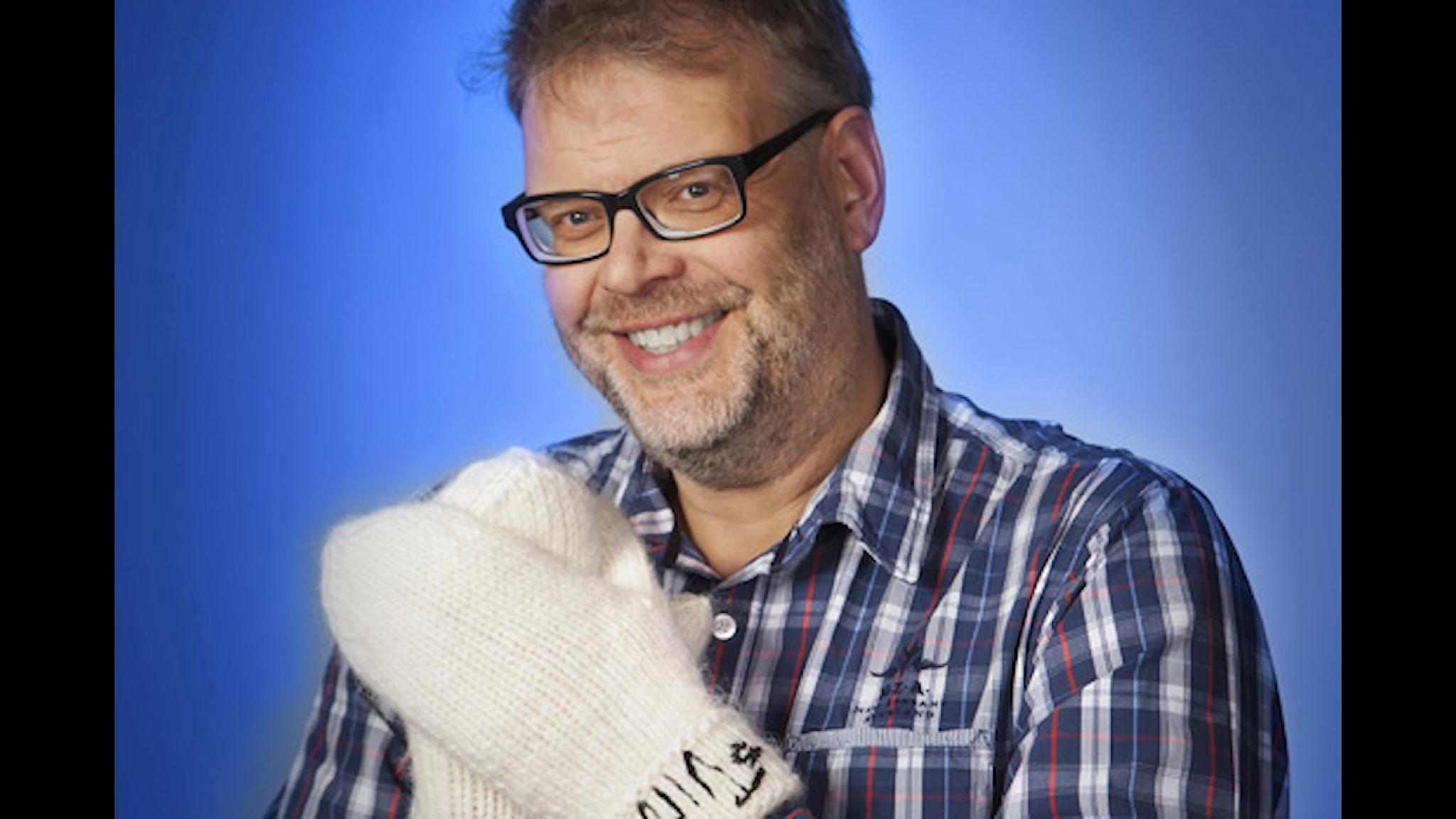 Hans Rosenfeldt. Foto: Mikael Andersson/Sveriges Radio