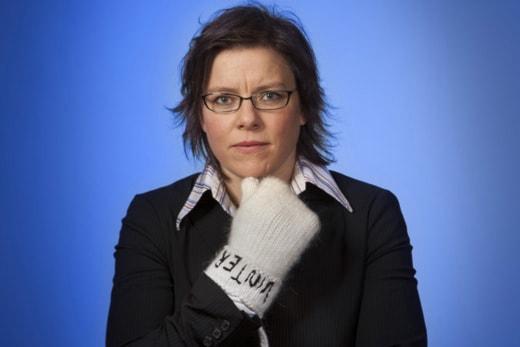 Lena Andersson. Foto: Mikael Andersson/Sveriges Radio