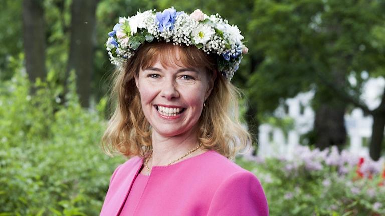 Christina Lampe-Önnerud. Foto: Mattias Ahlm/SR