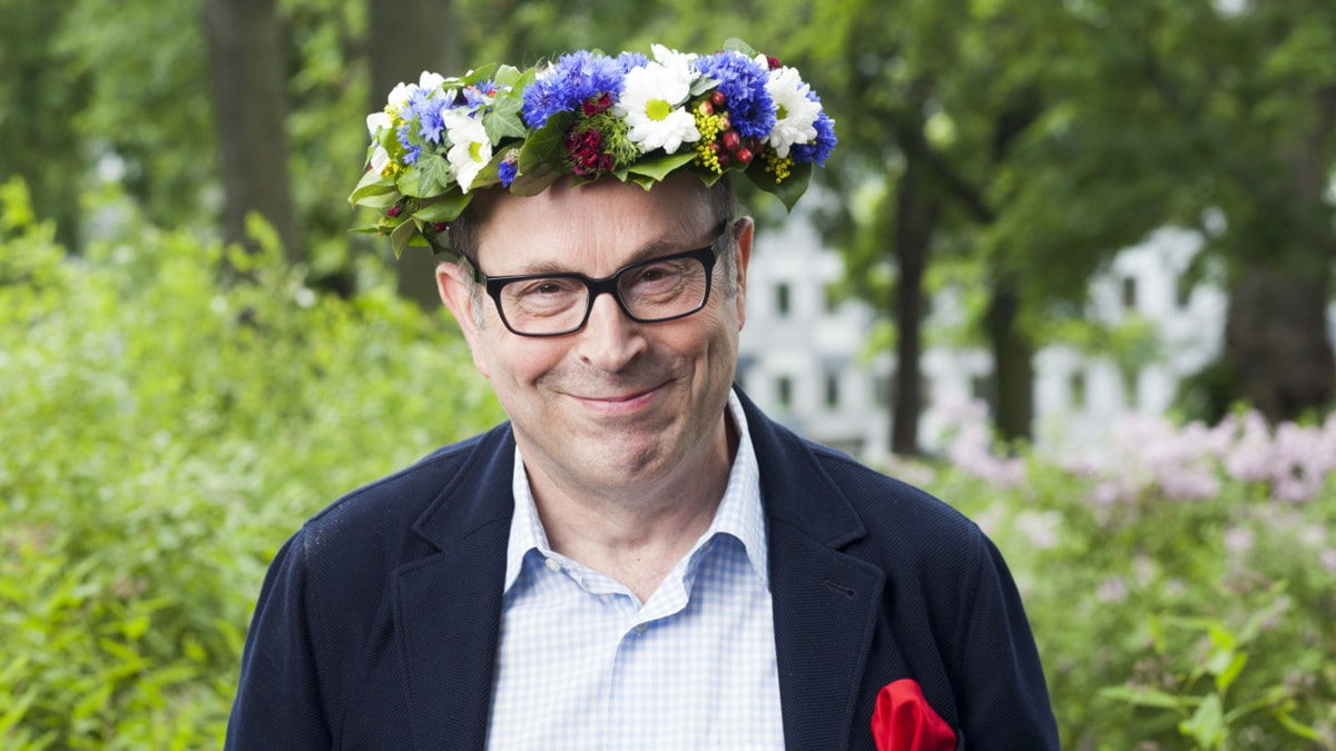 Jan Scherman foto Mattias Ahlm Sveriges Radio