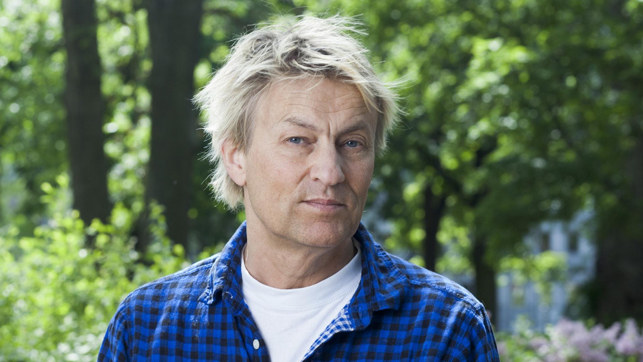 Lars Lerin Foto: Mattias Alm/Sveriges Radio