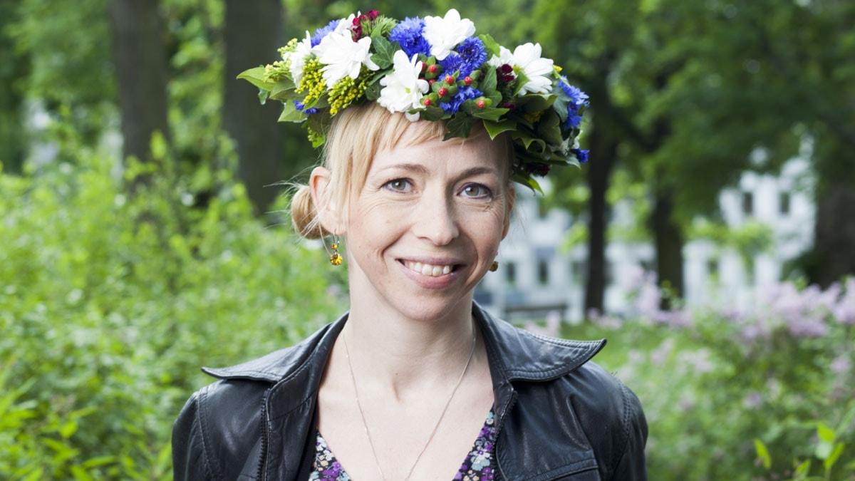 Jenny Jägerfeld foto: Mattias Ahlm/Sveriges Radio