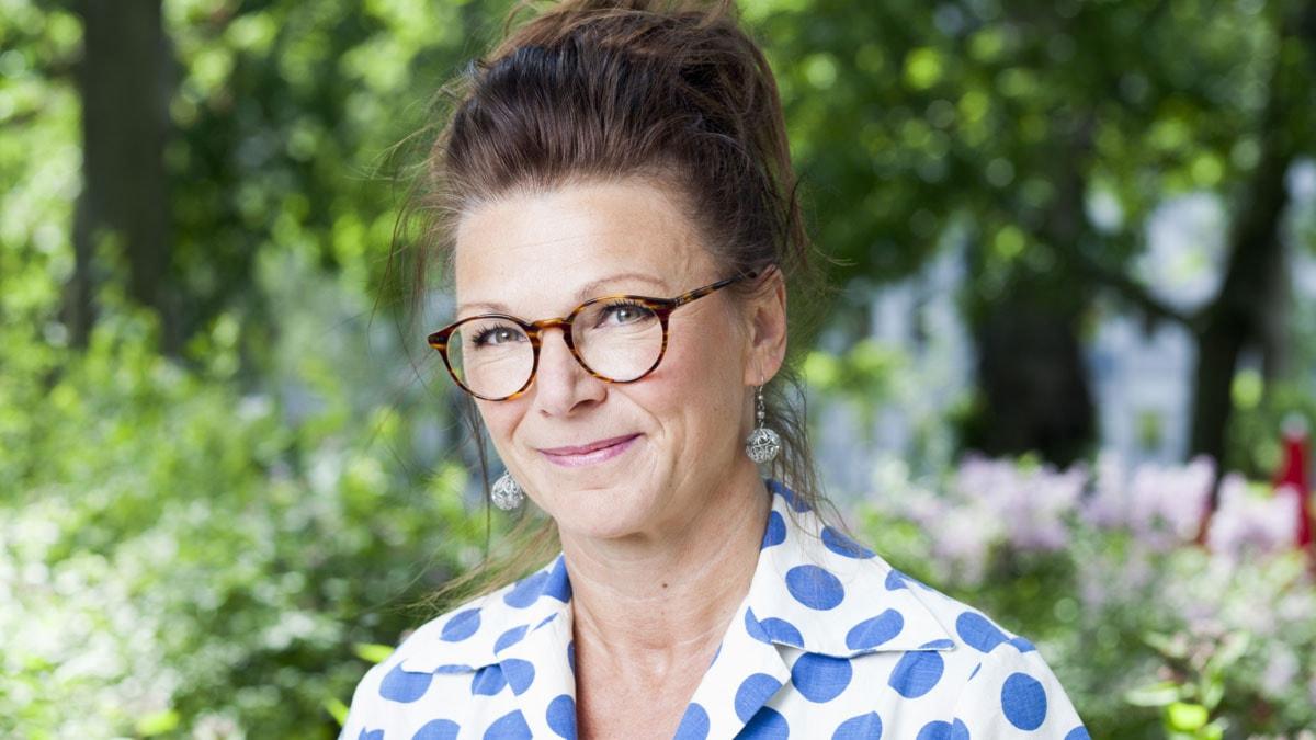 Katrin Sundberg foto: Mattias Ahlm/Sveriges Radio