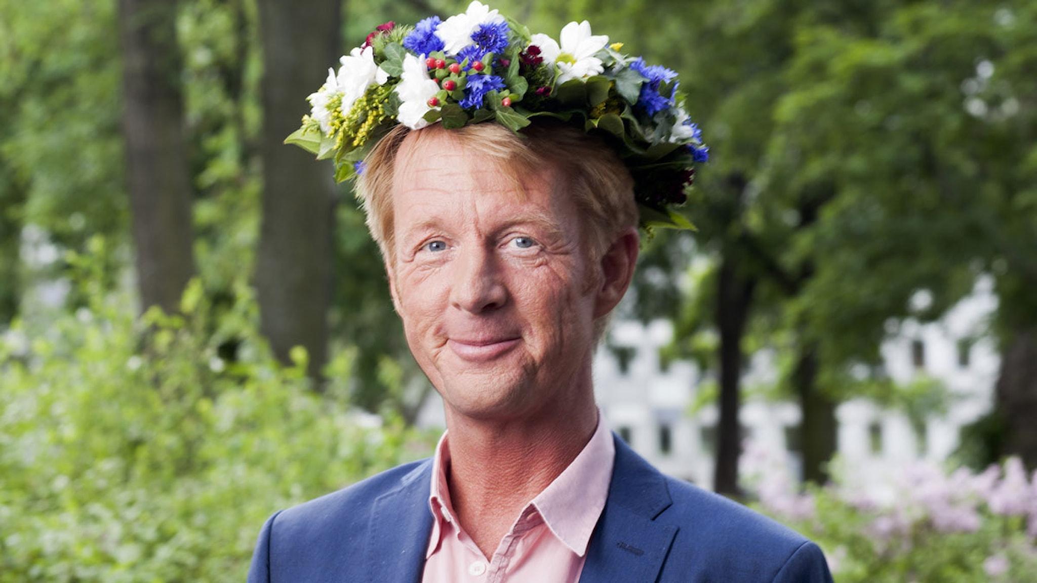 Björn Lindeblad foto: Mattias Ahlm/Sveriges Radio