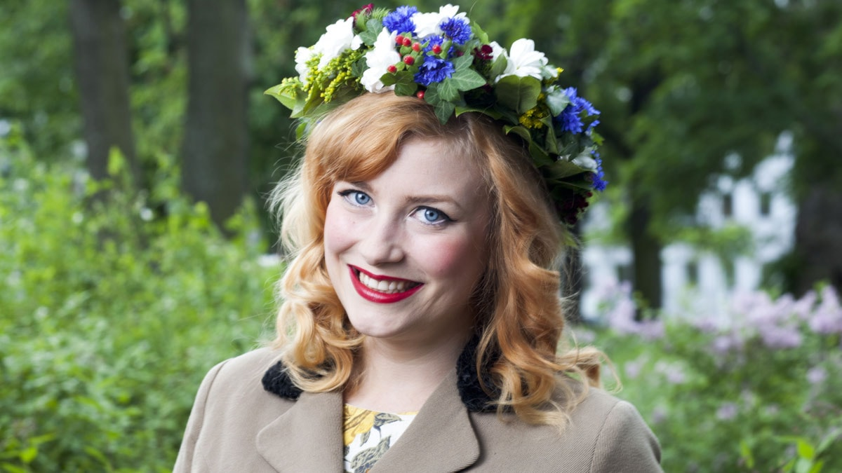 Elsa Billgren foto: Mattias Ahlm/Sveriges Radio