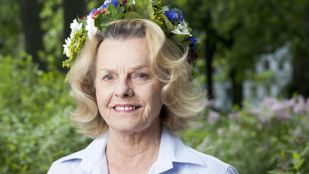 Marie Göranzon foto: Mattias Ahlm/Sveriges Radio