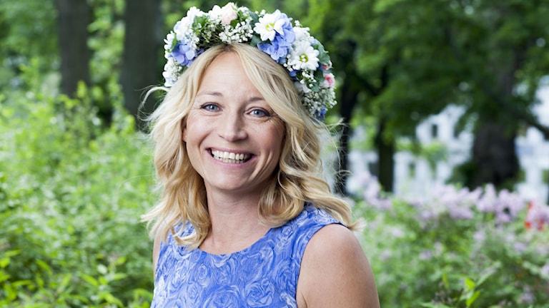 Martina Haag foto: Mattias Ahlm/Sveriges Radio