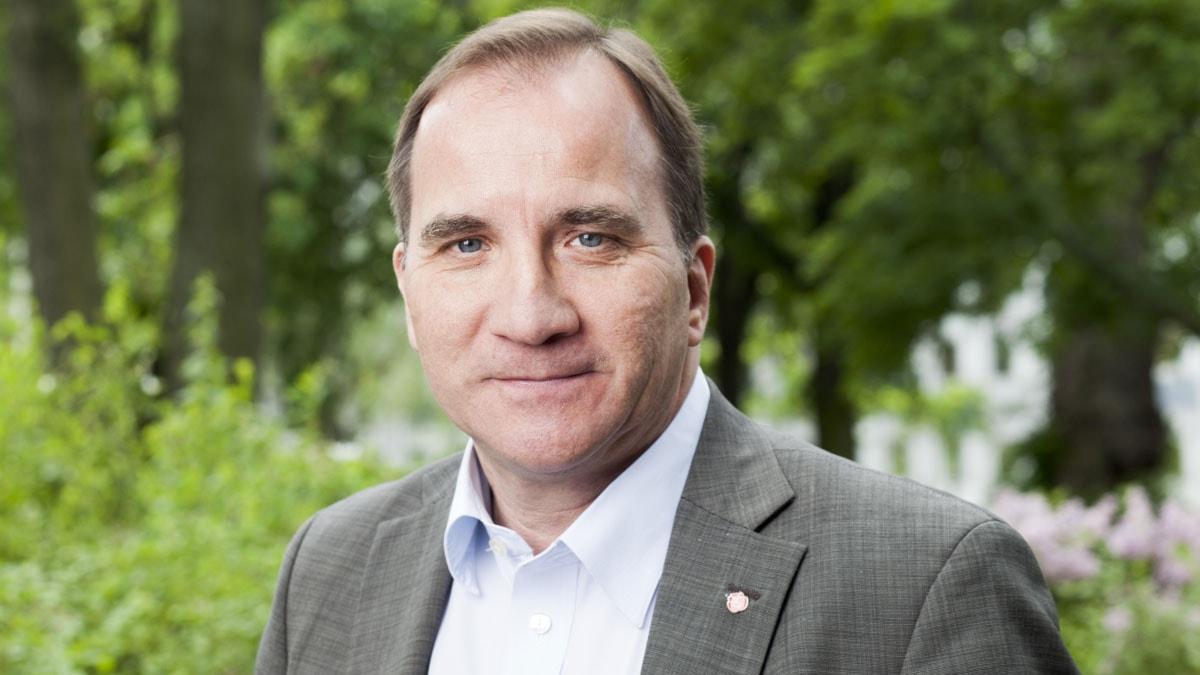 Stefan Löfven foto: Mattias Ahlm/Sveriges Radio