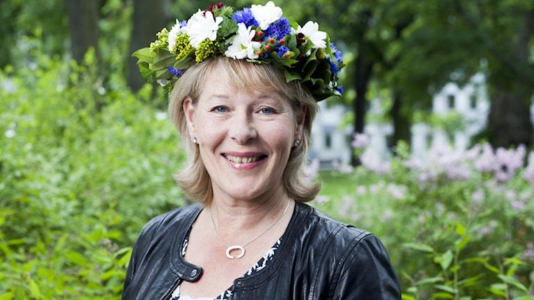 Birgitta Svendén foto: Mattias Ahlm/Sveriges Radio