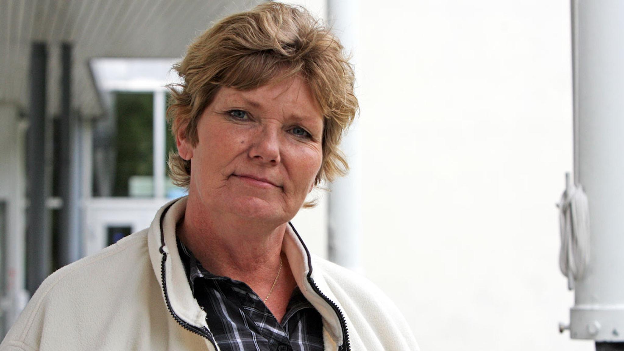 Annika Östberg. Foto: Benjamin Thorén
