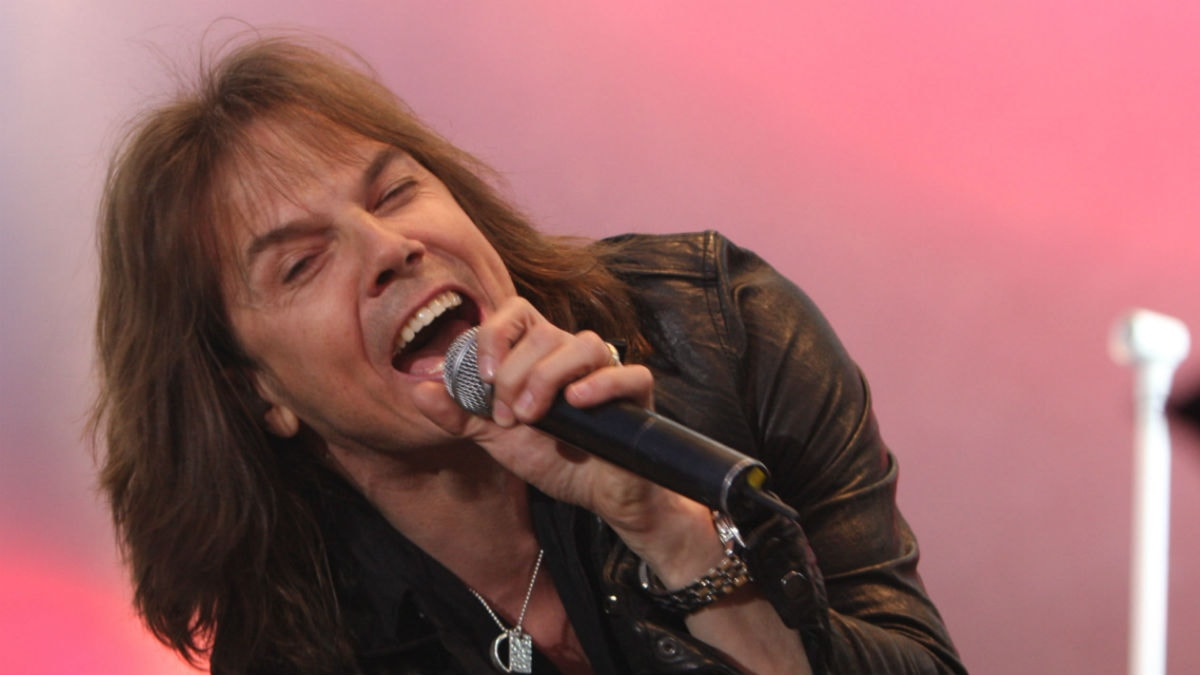 Joey Tempest. Foto: Sveriges Radio
