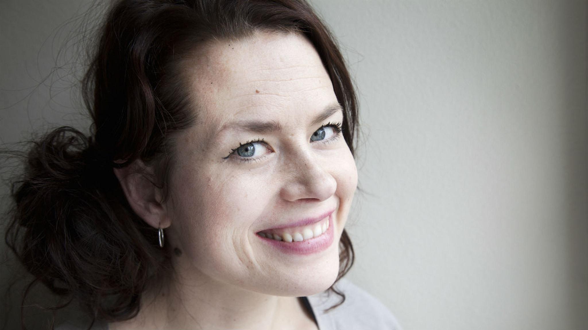 Liv Strömquist. Foto: Mikael Andersson/Sveriges Radio